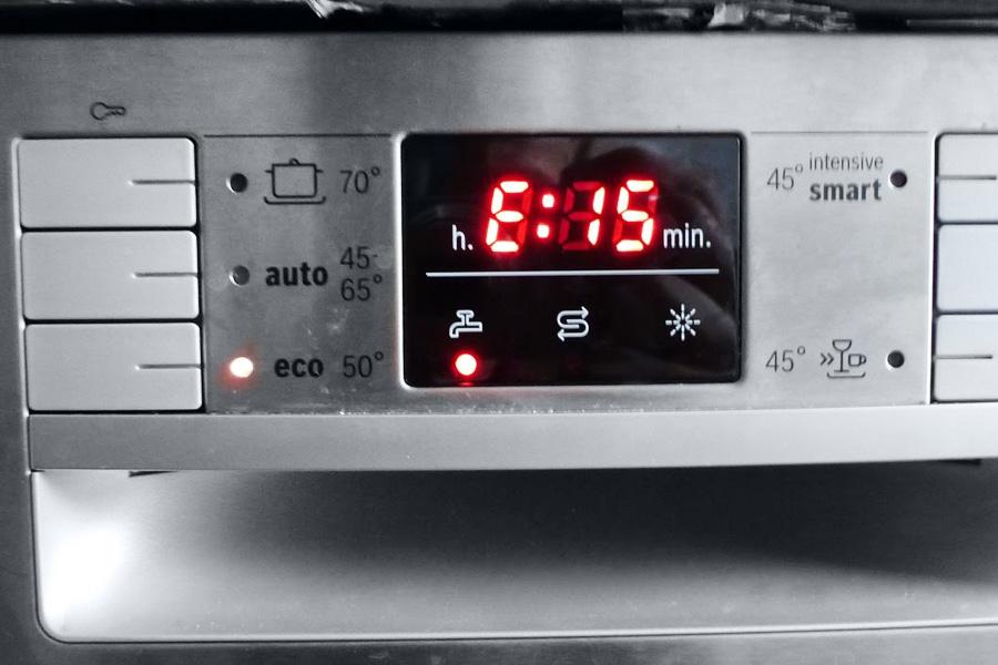 ошибка е15 в посудомоечной машине