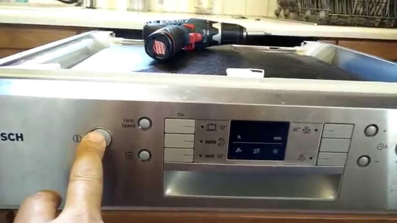осмотр посудомоечной машины