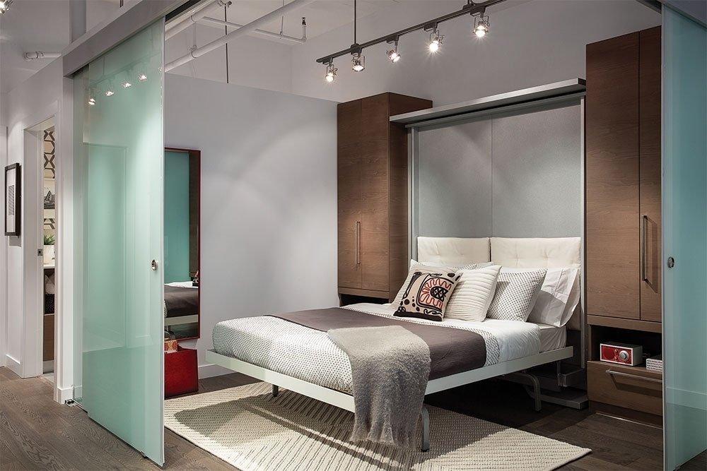 это чувство встроенная кровать в однокомнатной квартире фото большинстве случаев