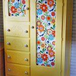 отреставрированный шкаф фото декора