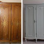 отреставрированный шкаф виды дизайна