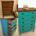 восстановление старых мебельных идей