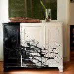 Восстановление старого мебельного фото декора