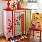 идеи декорирования старой мебели