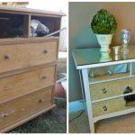 ремонт старого мебельного декора