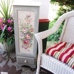 восстановление старых мебельных картин