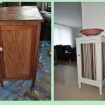Опции для переделывания старых мебельных идей