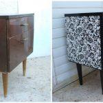 варианты дизайна старой мебели для реконструкции