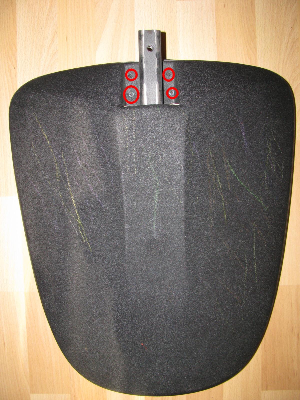 снятие спинки стула