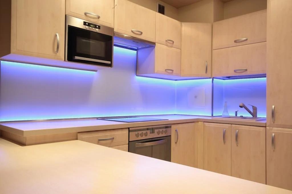 подсветка для кухни дизайн фото