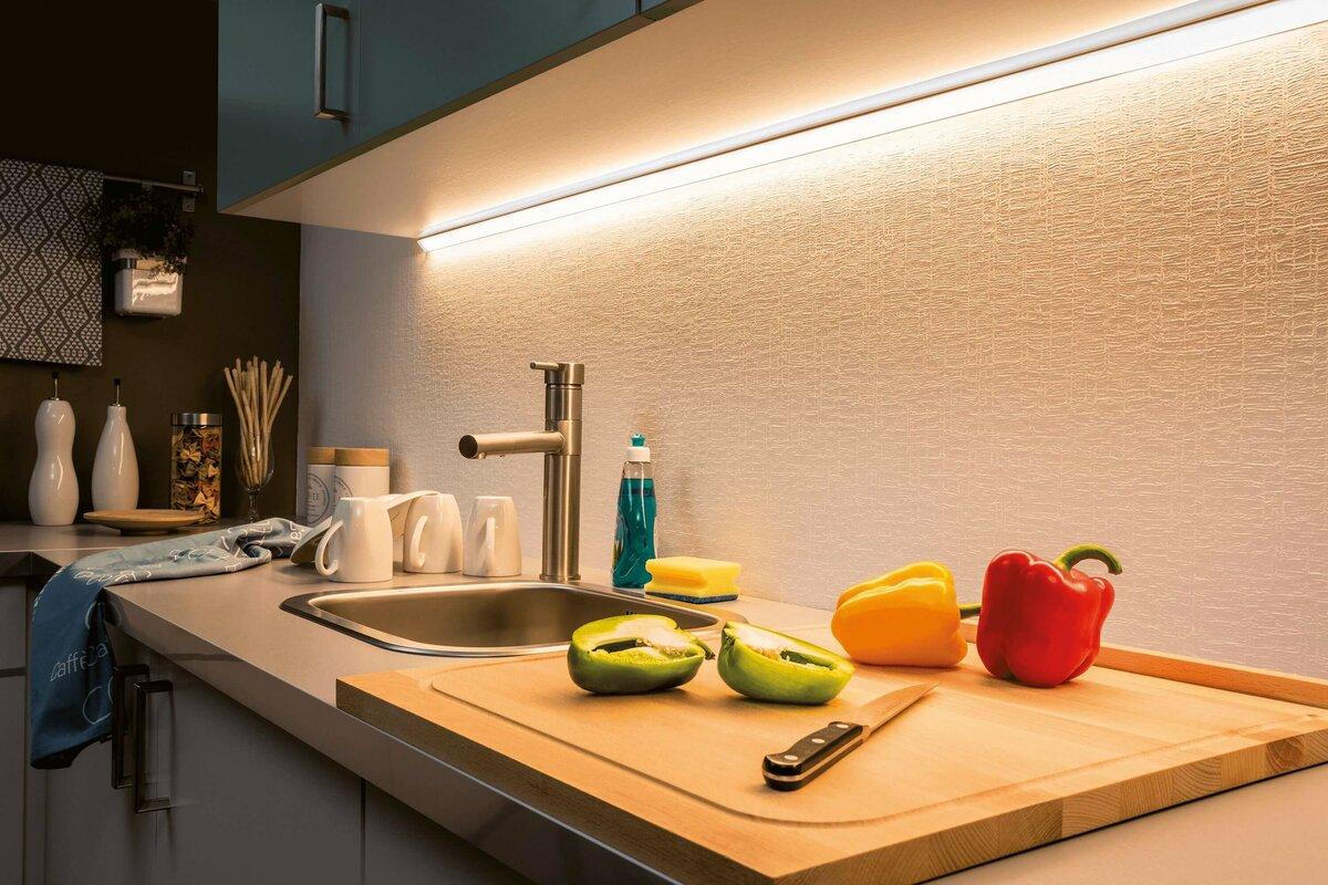 подсветка для кухни фото дизайн
