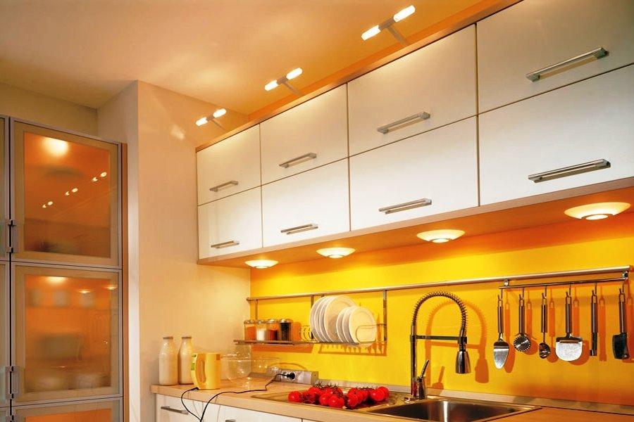 подсветка для кухни фото дизайна