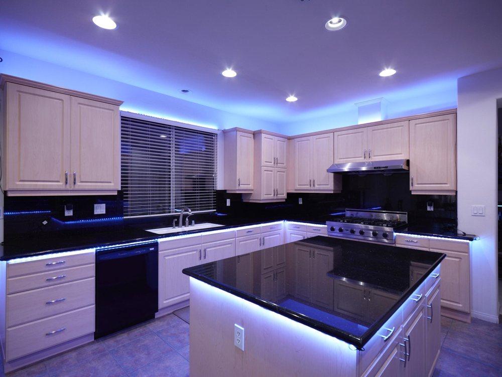 подсветка для кухни фото идеи
