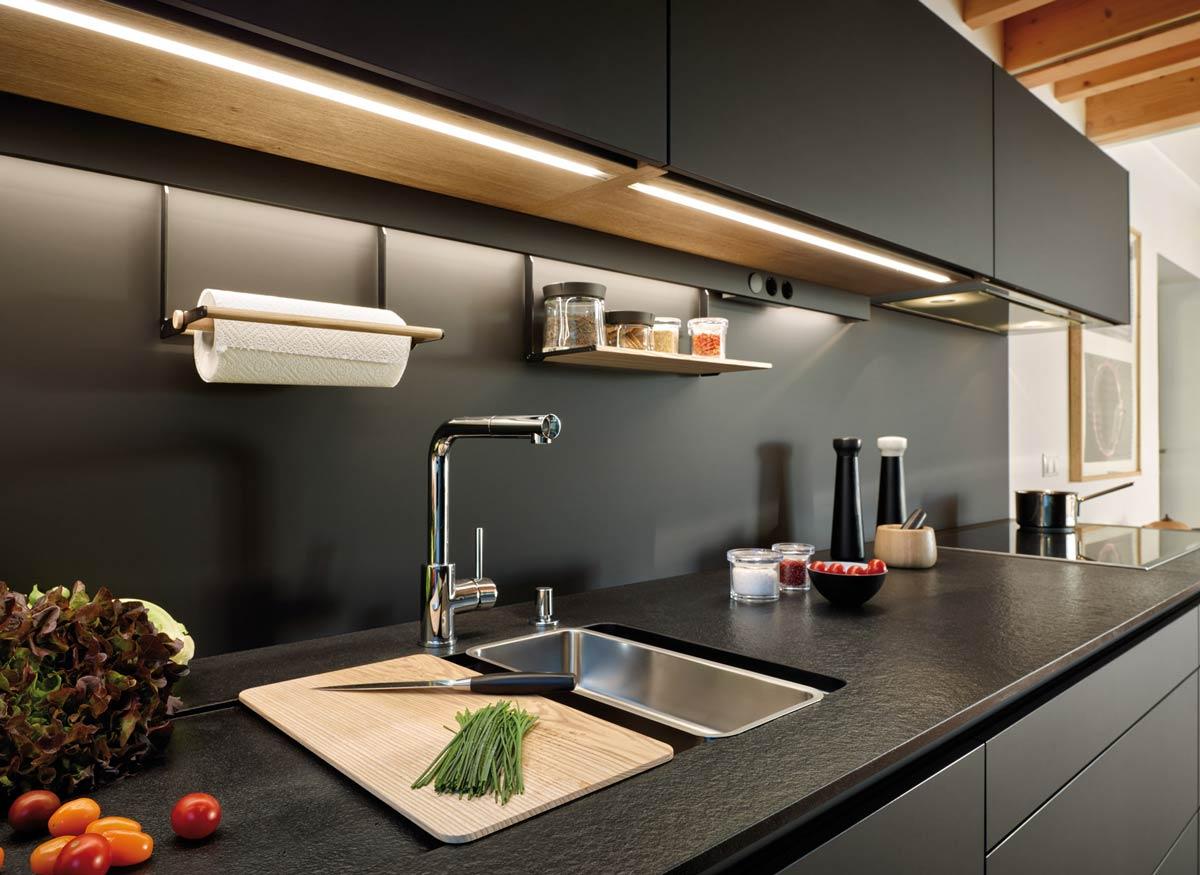 подсветка для кухни идеи оформления