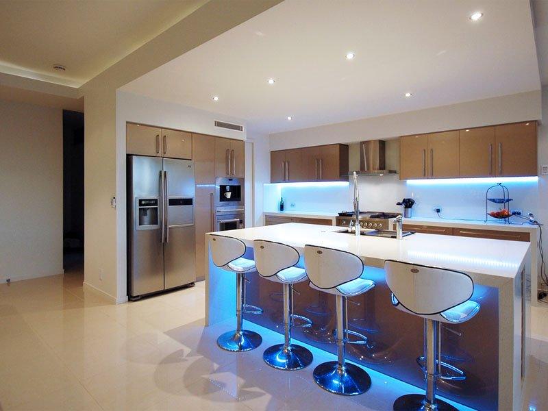 подсветка для кухни идеи
