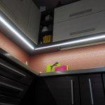 подсветка для кухни оформление