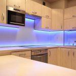 подсветка для гарнитура синяя