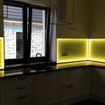 подсветка для гарнитура желтая