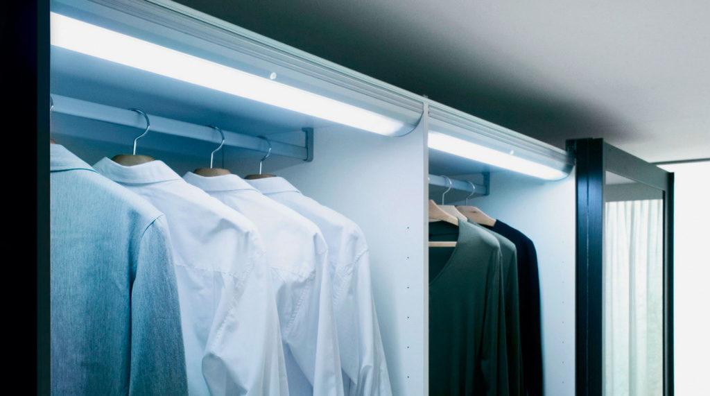 подсветка шкафа купе люменисцентная