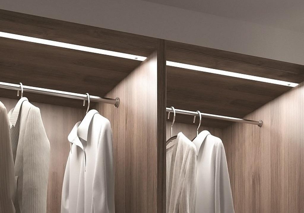 подсветка шкафа купе варианты