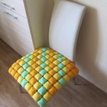 подушки для сидения на стуле декор идеи