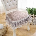 подушки для сидения на стуле фото декора