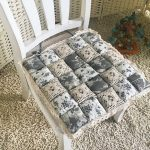 подушки для сидения на стуле идеи декора