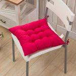 подушки для сидения на стуле интерьер фото
