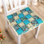 подушки для сидения на стуле фото интерьера