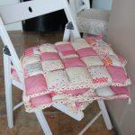 подушки для сидения на стуле интерьер идеи