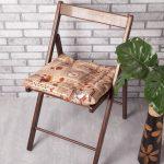 подушки для сидения на стуле идеи интерьера