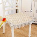 подушки для сидения на стуле идеи оформления