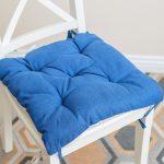 подушки для сидения на стуле фото дизайн