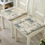 подушки для сидения на стуле фото варианты