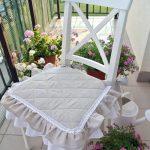 подушки для сидения на стуле идеи варианты