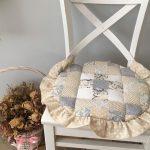 подушки для сидения на стуле идеи дизайн