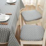 подушки для сидения на стуле декор фото