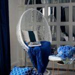 подвесное кресло фото оформления