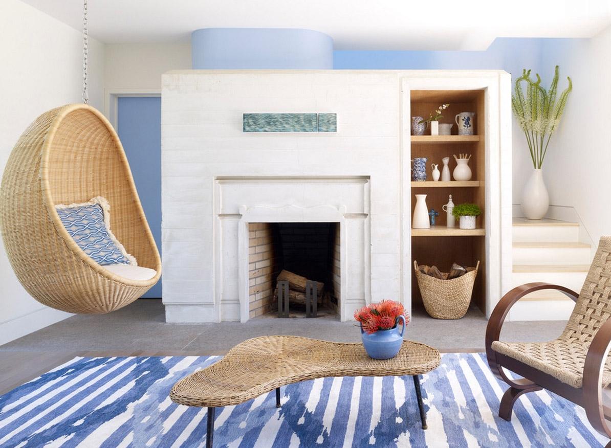 подвесное кресло фото дизайна