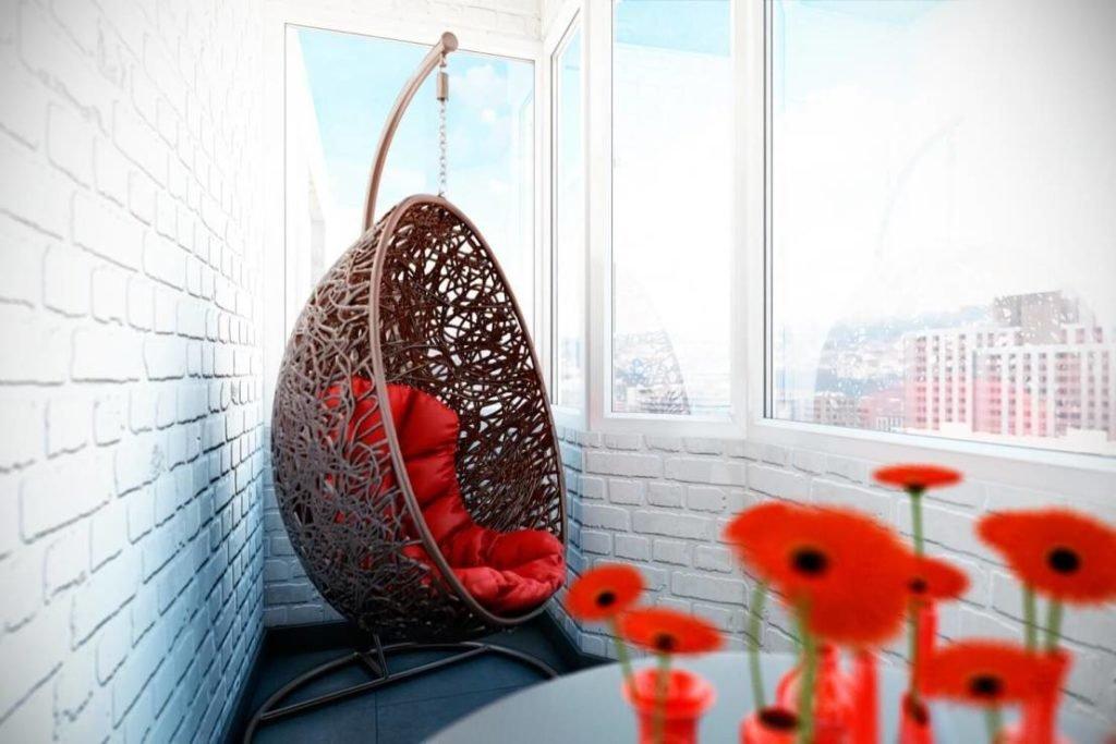 подвесное кресло фото идеи