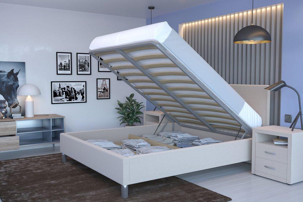 покупка кровати с подъемным механизмом