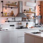 полки для кухни фото оформления