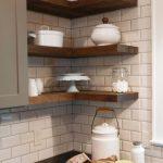 полки для кухни виды дизайна