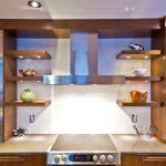 полки для кухни виды декора