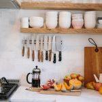 полки для кухни дизайн фото