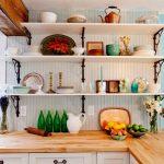 полки для кухни фото дизайн