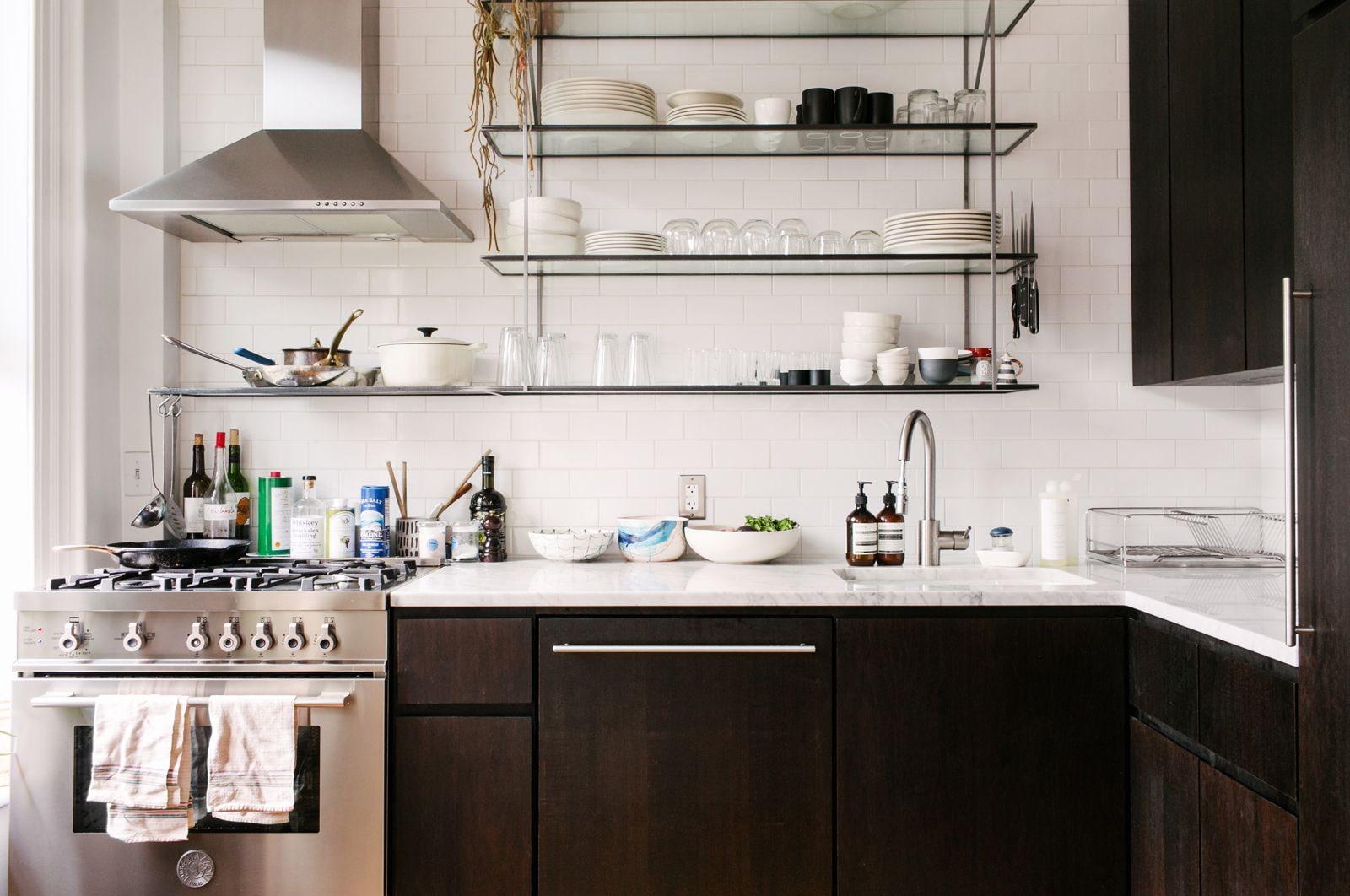 полки для кухни фото идеи