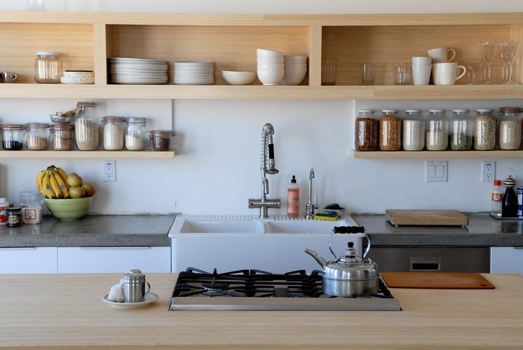 полки для кухни идеи