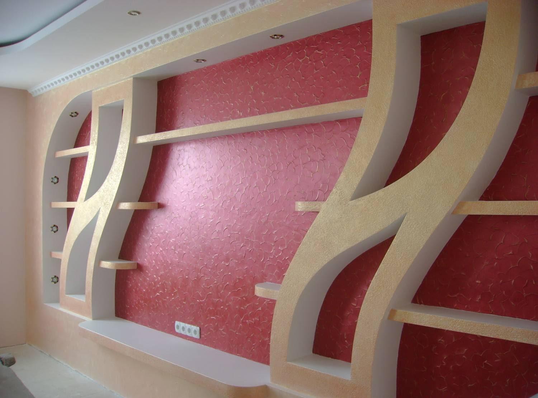Натяжные стены с потолками фото
