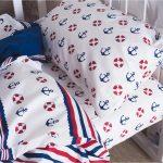 постельное белье якорь